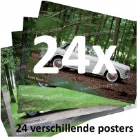 Posterset 24 stuks